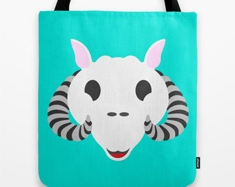 Star Wars Tote Bag Tauntaun Teal Tote Bag