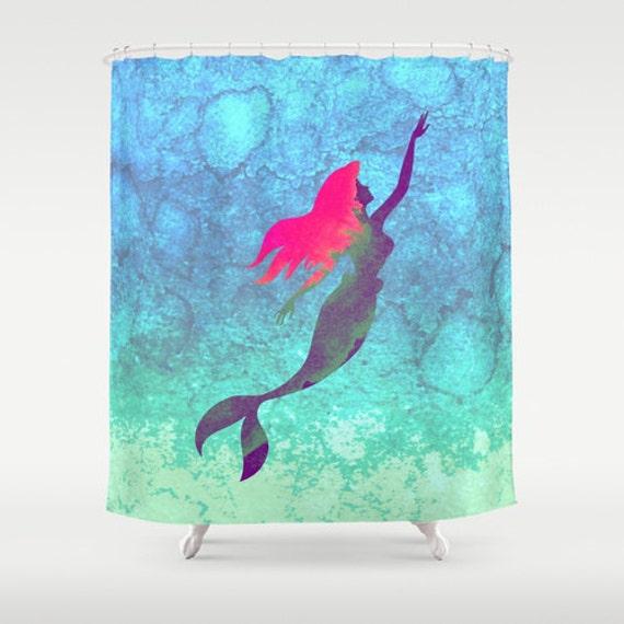 Curtains Ideas ariel shower curtain : Disney's The Little Mermaid Shower Curtain