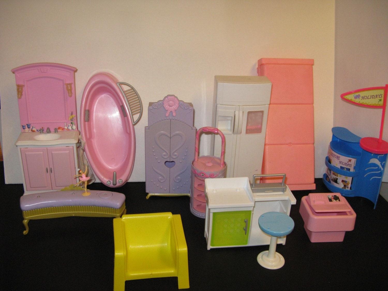 Vintage Barbie Dollhouse Furniture