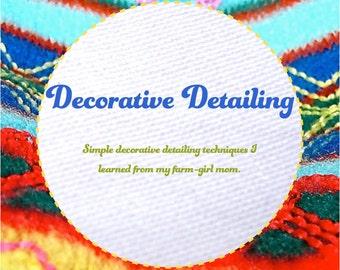 Decorative Detailing downloadable eBooklet