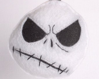Angry Jack plush backpack clip/ornament