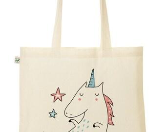 "Tote Bag ""In Unicorn we trust"""