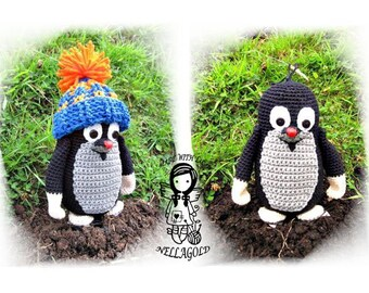 Crochet PATTERN, Mole with hat, Toy,  DIY Pattern 55