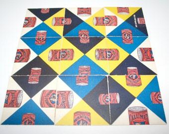 1930's Calumet Advertising Puzzle Calumet Baking Powder Co Chicago Il Square Puzzle Color Puzzle Vintage Advertising