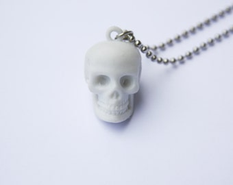 The Skull Head - Funky Shrunky Necklace