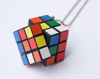 The Cube - Funky Shrunky Necklace