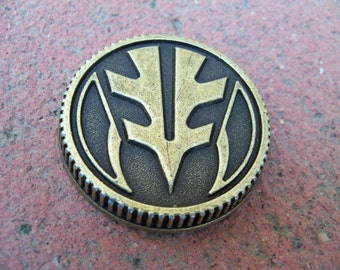 Tiger Power Coin Prop Ranger Cosplay 2013 Morpher Functional Weathered Legacy