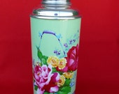 New Old Stock 70's Thermos - Vintage Thermos - Coffee Thermos - Cup Thermos - Tea Thermos - Travel Thermos 38 oz/1.15lt SUNFLOWER  Nr532