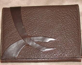 1920s Damaged Pigskin Clutch Bag, 90-Year Old Purse, Old Clutch Bag, Handbag Designers, 1920s Purse, 20s Pig Skin Leather Purse, Pigskin Bag