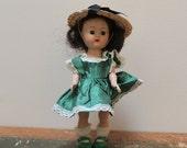 RESERVED - 1950s Cosmopolitan Ginger Doll Sleep Eye Toddler Walking Doll