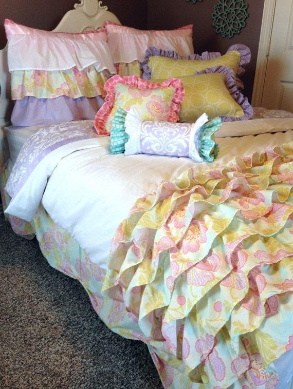 Custom Bedding Vintage Poppies By Likemymotherdoes On Etsy