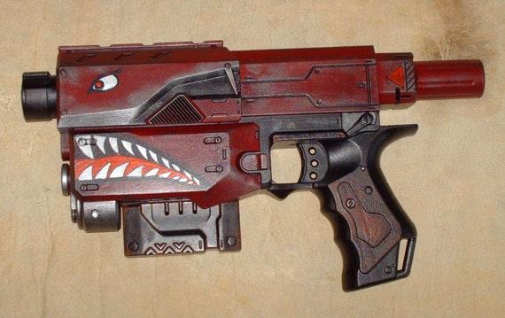 how to make custom nerf guns