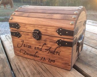 Shabby Chic Wedding - Rustic Wooden Card Box - Rustic Wedding Card Box - Rustic Wedding Decor - Advice Box - Wedding Card Holder - Card Box