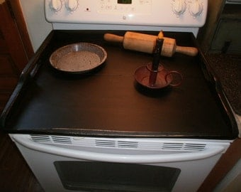 Stove Stop Cover  / appliance cover / Kitchen Decor / Noodle Board