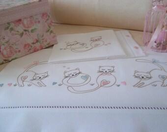 DISEGNO per lenzuolino o copertina da bimbi - PATTERN for nursery bedding