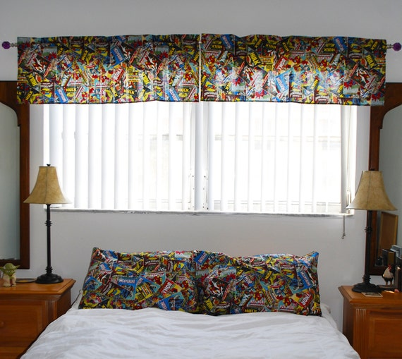 Marvel Retro Comics Superhero Bedroom Sets Table Runners