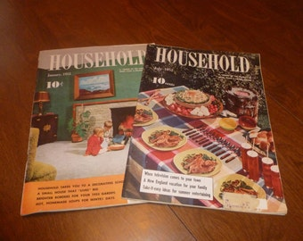 Two Vintage Household Magazines