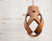 Lily Pendant Lampshade (Cherry wood)