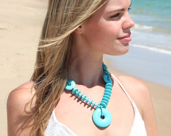 Sea of Dreams turquoise necklace