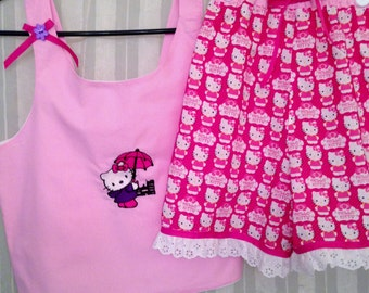 Hello Kitty Short Set