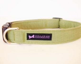 Green Dog Collar Tobias
