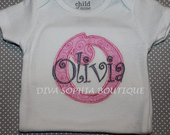 Personalized Creeper - Monogrammed Creeper