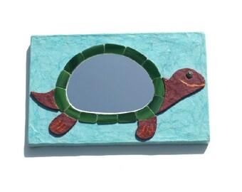Decorative Wall Mirror Turtle Mirror No.1,Handmade Wall Mirror