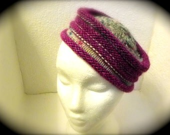 Pill Box Hat Pattern for 2 Versions of this Hat