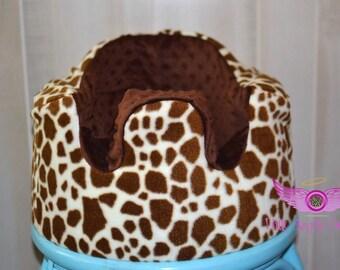 Brown Giraffe Bumbo Seat Cover