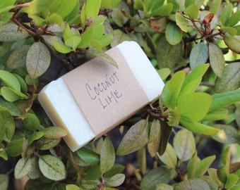 Coconut Lime Soap, 4 oz.