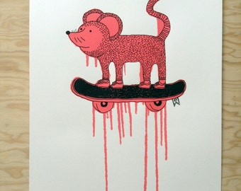 2ter - Flipsy - Limited Silk Screen Print on Paper - Edition of 13