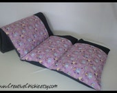 Pillow Bed with Sophia the First fabric, Daycare Mat, Pillow bed cover, Children's Pillow Bed, Pillow Mattress, Sleepover Bed