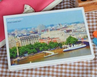 Sales : Miniatures Postcards - 30 Cards