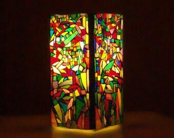 Μosaic table lamp