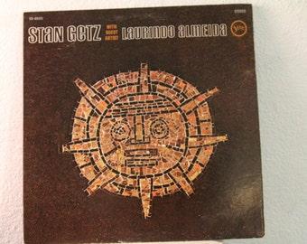 "Stan Getz With Laurindo Almeida - ""Stan Getz With Guest Artist Laurindo Almeida"" vinyl record"