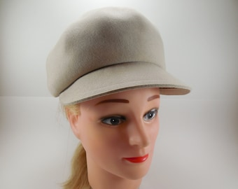 how to clean a white hat brim
