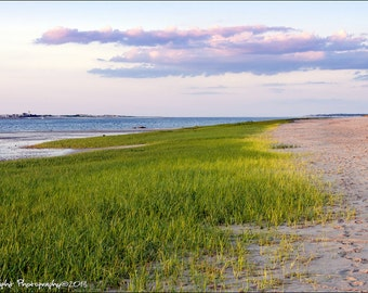 Millway Beach Barnstable Cape Cod Summer Beach Landscape Fine Art Print