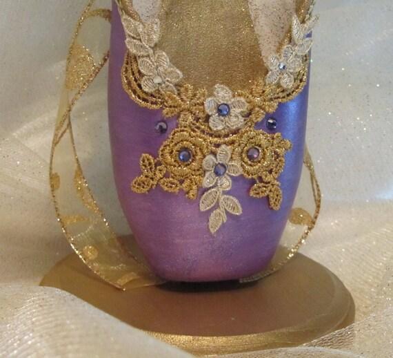 Nutcracker Sugar Plum Fairy Elegant Purple And Gold