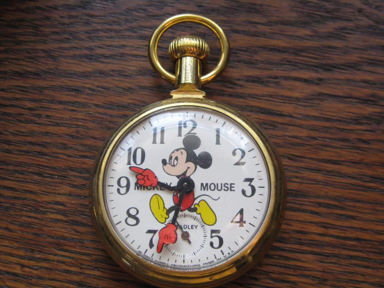 vintage mickey mouse pocket by bradley