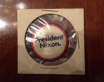 Vintage 'Nikon for President' - Campaign Pin