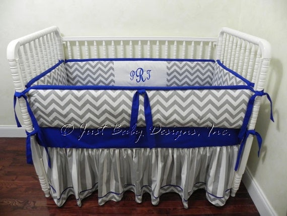 Custom Baby Crib Bedding Set Skyler Baby Boy Bedding Royal