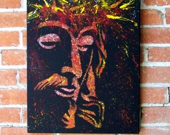 """Jesus Christ Portrait """"Salvador"""" My Savior"""