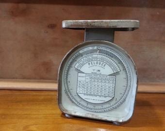 Vintage 1950s Pelouze Postal Scale, Vintage