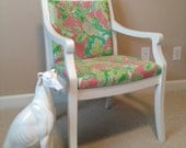 Lilly Pulitzer Side Chair