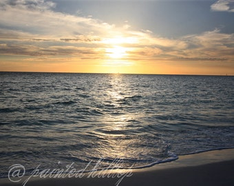 Sunset Photography - Sunset Florida 10 x 8 Fine Art Photography Print
