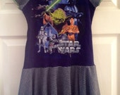 Size 5 Star Wars Upcycled Dress