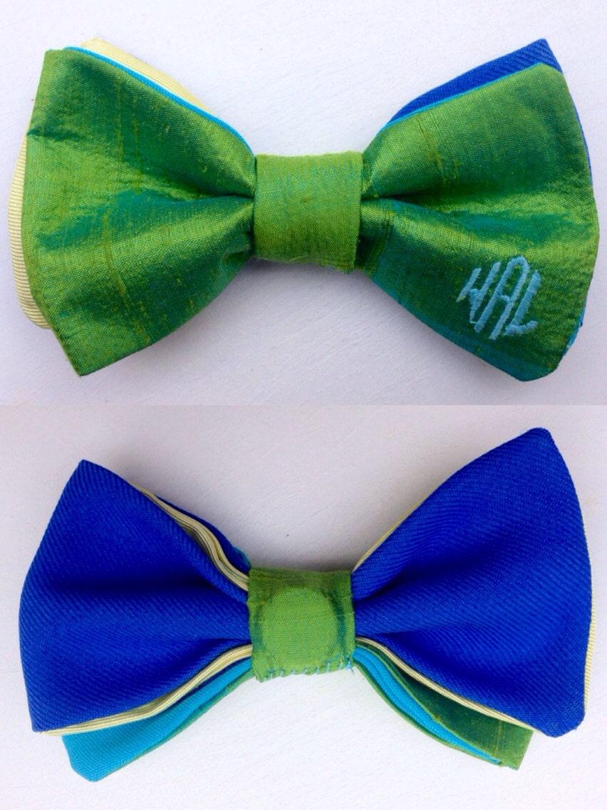 monogram bow tie custom bow tie gift for gift for