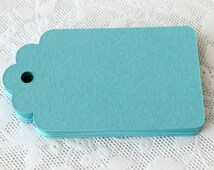 50 Teal Gift Tag, Wedding Tags, Escort Card, Price Tag, Hang Tag, Wish Tree, Save the Date, Place Card, Teal DIY Wedding Supplies