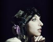 Sale Faded Fairytale Headpiece - 1920s Flapper Style Headdress