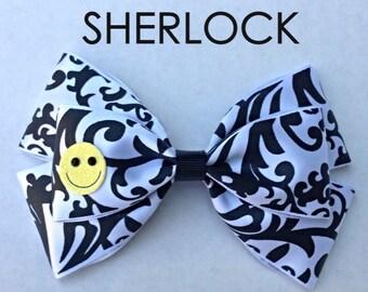 sherlock hair bow